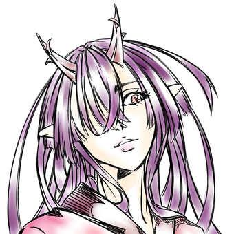 Maki Kashima, face