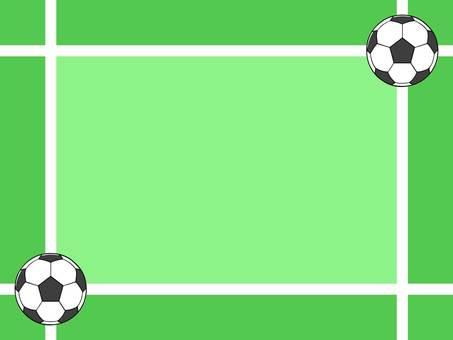 축구의 메시지 카드