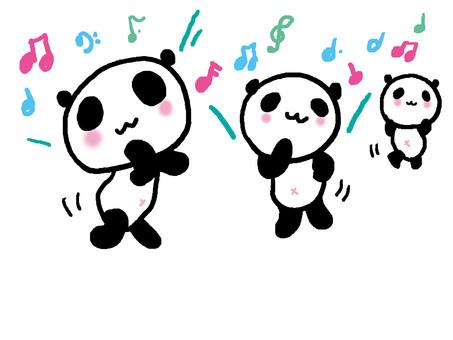 Dance panda 5