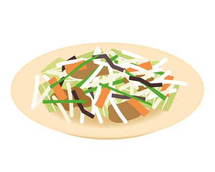 炒菜配小菜