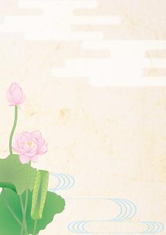 莲花_ Hydrolic日本纸垂直板