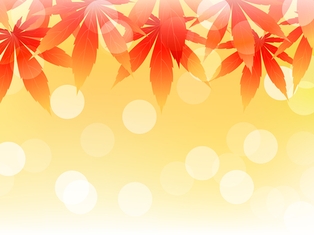 ai autumn leaves background for autumn · frame