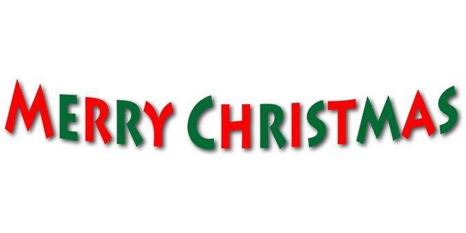 Christmas font character Xmas 2