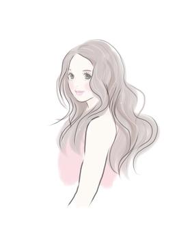 Women Long Hair Wave