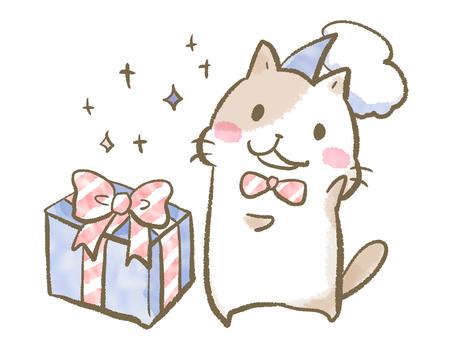선물과 고양이