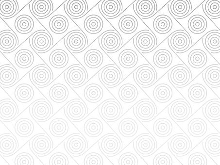 Geometric curve pattern on white background Black