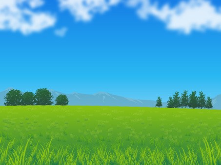 Fresh sky and grassy background 01