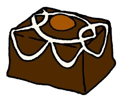 Bite chocolate cake