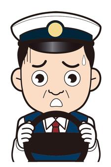 Taxi driver (impatient)
