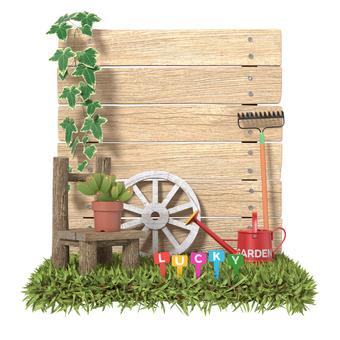 Miniature style gardening A