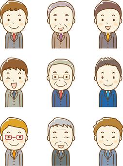 Office worker variation