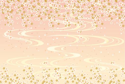 Japanese Pattern Sakura 201707