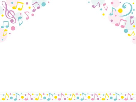 Melody frame