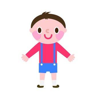 A cute boy