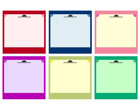 Elegant frame material set square
