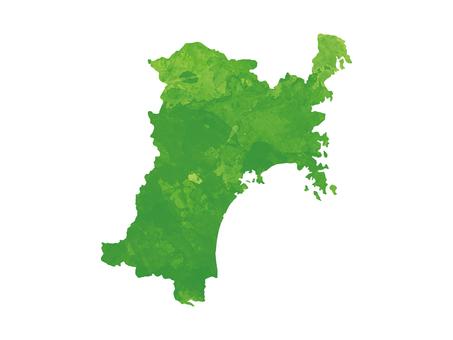 Miyagi prefecture map [2]