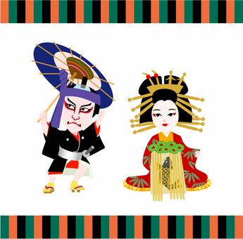 歌舞伎三頭身キャラクター助六