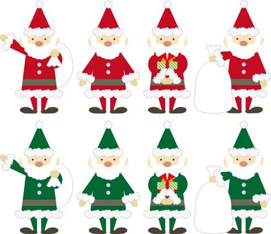 Christmas material 01 (set 01)