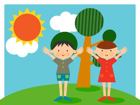 태양과 아이