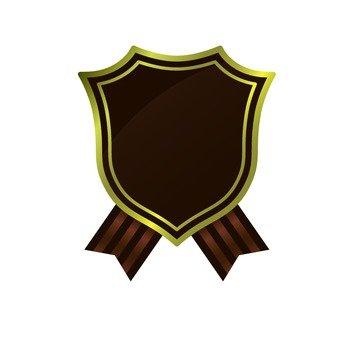 棕色獨特框架
