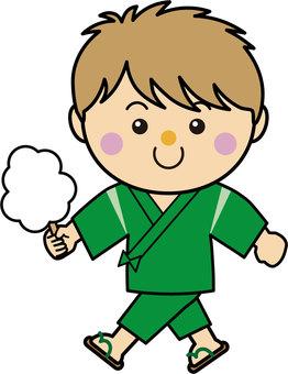 Boy 16_05_02 (Kotohira, cotton candy)