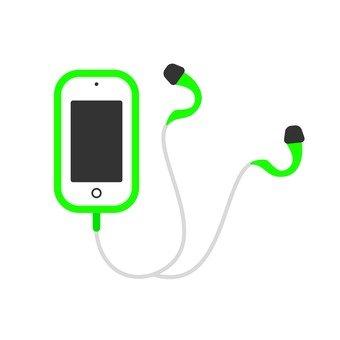 Smaho and earphones