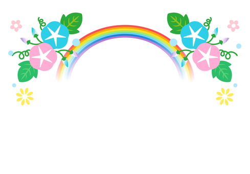 Rainbow Asagao