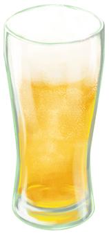 ビール 輪郭線なし