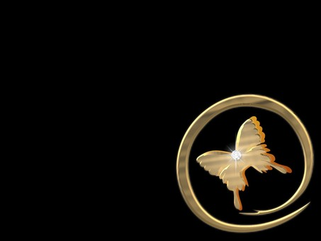 Butterfly on a circle