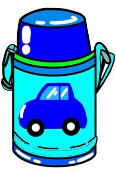 Water bottle car