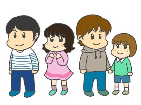 Children in line