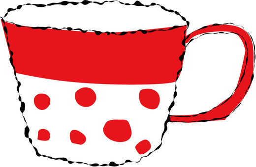 Hand-drawn cup