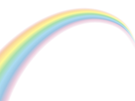 Rainbow _PNG through / Rainbow