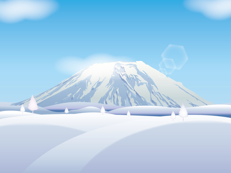 Winter mountain 01