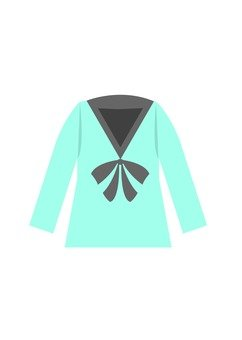 Blouse (light blue)