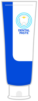 Toothpaste paste - stand type