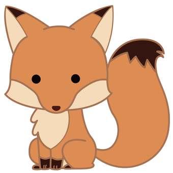 Animal illustration-fox