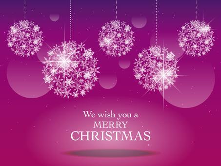 圣诞节图像003紫色