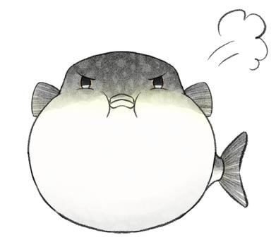 Swollen puffer