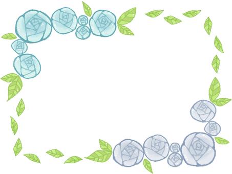 Rose frame 8