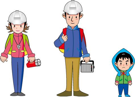 Disaster prevention family