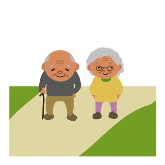 Country old couple 2