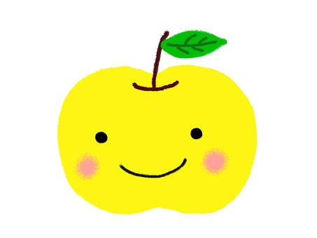 黃色的蘋果