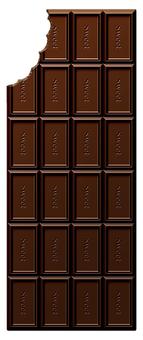 Dirty board chocolate (vertical)