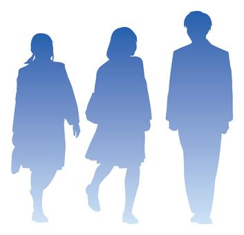 School silhouette
