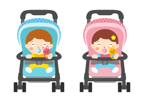 Baby carriage _ smile
