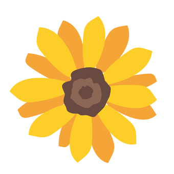 Sunflower single wheel