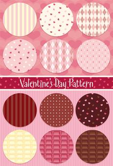 Valentine's pattern set