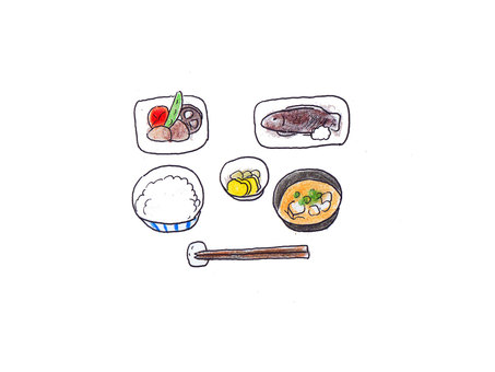 Basic Japanese food