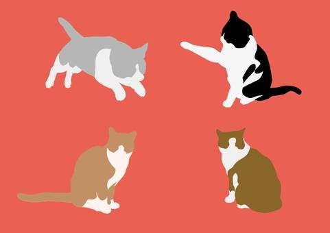 Cat / Silhouette